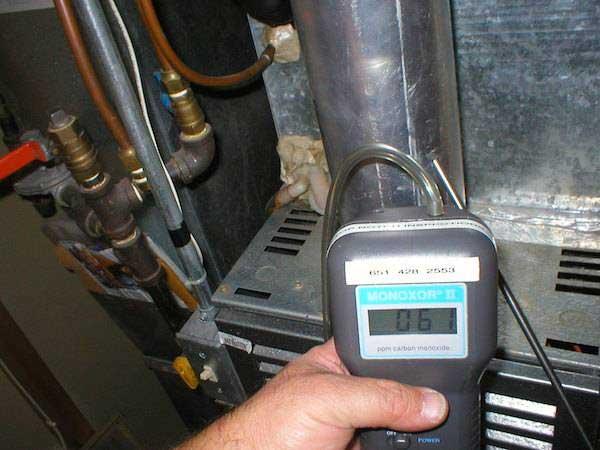 Duct Carbon Monoxide Testing